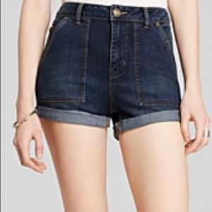 Free People Shorts - Free People high rise shorts